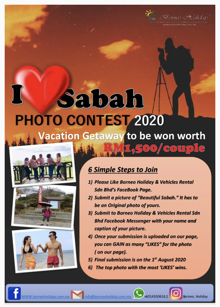 I Love Sabah Photo Contest 2020